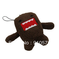 30PCS/LOT Mini HOT Japan Domo Kun TOY; 5*4CM DOLL; Mobile Cell Phone Strap Pendant Charm Lanyard Chain; Key Chain BAG Charm TOY
