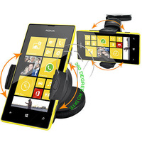 360 DEGREE WINDSCREEN CAR HOLDER CAR MOUNT HOLDER CRADEL FOR NOKIA LUMIA 520 FREE SHIPPING