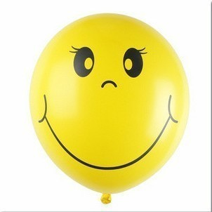 Thickening smiley latex balloon arch balloon 12 thickening latex balloon smiley balloon(China (Mainland))