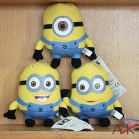 Hot Selling Drop Shipment  Despicalbe Me 2 Minion Plush Cute Toys 1 Lot 3 Pieces Jorge Stewart  Dave