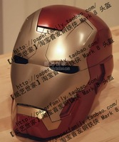 Iron Man 1:1 Helmet Hands-On Mask Photo Paper  Diecasts Toy Vehicles