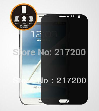 Galaxy note 2, 3M Privacy Screen protector, free shipping(China (Mainland))