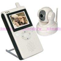 "Pan/Tilt Control Baby Monitor 2.5"" LCD Wireless"