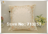 NO.106  free shipping new floral fashion luxury beautiful cheap pillow case for living loom sofa bed and car