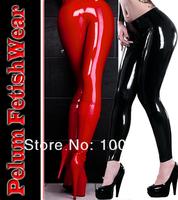Plus Size Punk New 2014 Fetish Gothic Sexy Shinny Glass Stretch PVC Vinyl Fitness Latex Legging Celebrity Leggins Legging Pants
