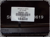 For HP/COMPAQ CQ62 G62 CQ56 AMD DDR3  laptop motherboard 592809-001,100% Tested and guaranteed in good working condition!!