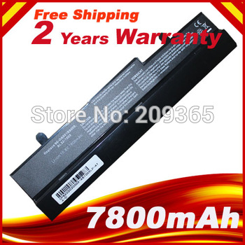 7800mAh Battery for Asus Eee PC EEEPC 1005 1005H 1005HA 1001 1001HA 1001P 1001PX 1101HA Free Shipping