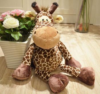 NICI jungle Dark coffe Giraffe stuffed animal 50cm new