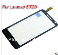 Black Digitizer Touch Screen For Lenovo S720 Original  High quality, Free shipping