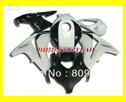 Hi-grade white blk Fairing kits for 2008 2009 HONDA CBR1000RR CBR-1000RR 2008-2009 CBR 1000RR 08 09(China (Mainland))
