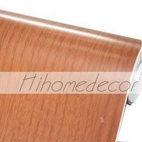 Wood Pattern Self Adhesive Rolls Waterproof PVC Wallpaper