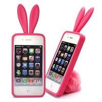 Silica gel protective case,rabbit mobile phone case accessories wholesale