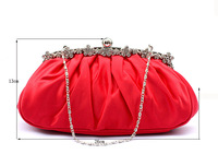 All-match delicate Simple diamond evening bag,bride clutch bag, dress bag,free shipping