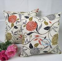 New Pastoral Style Cotton Canvas Pillow Case Decor Cushion Cover 45cm*45cm