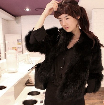 Women fur coat fox fur outerwear fur coat rabbit fur overcoat(China (Mainland))