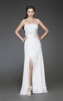Top quality elegant tube type evening dress bridesmaid dress evening dress