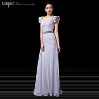 2013 fashion elegant short sleeve length slim skirt evening dress banquet evening dress women's