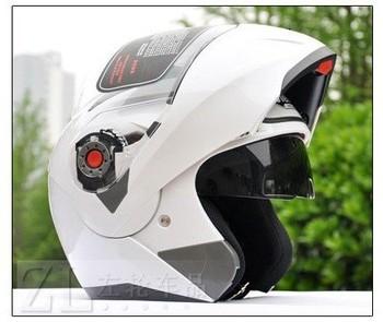 JIEKAI quality goods electric motorcycle helmet qiu dong QuanKui upscale double lens strip surface helmet