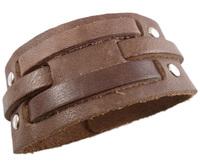 2013 trendy fashion handmade stud belt buckle unisex wide plain leather bracelets for men and women jewelry bangle