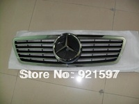 suitable used for Mercedes 2000-2006 with original logo style chrome Grille W203 front grille free shipping DHL,FedEx