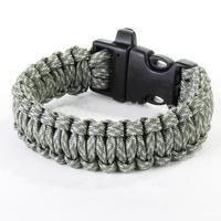 Free Shipping Paracord Parachute Cord Survival Bracelet - ACU Digital Camo