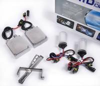 Free shipping Hot 12V 55W HID Xenon Conversion Ballast Kit Bulbs 880 6000K Built-in decoder [AC310]