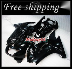 Customized -Black Fairing kit KAWASAKI Ninja 250R EX 250 2008 2009 2010 2011 EX250 08 09 10 11 Free(China (Mainland))