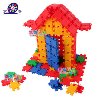 Small doodle plastic building blocks assembled educational toys for child 3 - 7 nursery toys free shipping(China (Mainland))