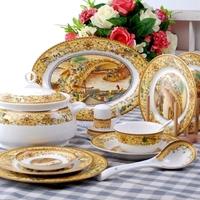 Chinaware dinnerware set avowedly 56 quality bone china bowl tableware