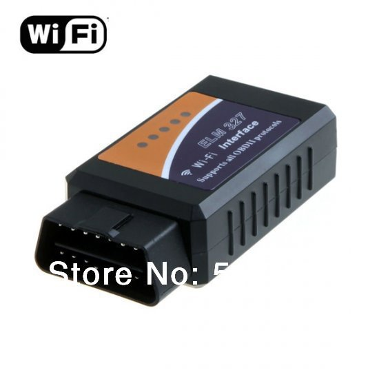 2013 Professional Diagnostic Tool WIFI ELM 327 obd2 ELM327 WIFI Scanner Free Shipping(China (Mainland))