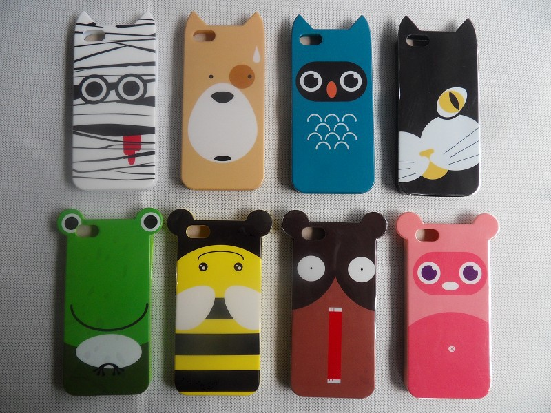 Free shipping!!!! Carton cat design for iphone 5 Phone case, cellphone case,mobile cover for 5 shock proof, dirt proof(China (Mainland))