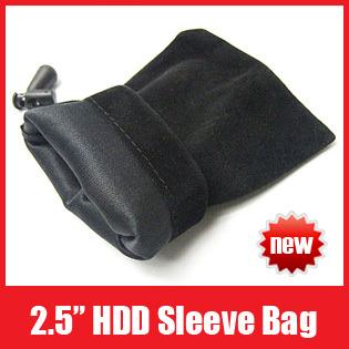 "50pcs/Lot 2.5"" HDD Enclosure Hard Drive Disk Case Bag Sleeve for MP3/MP5/Moblie Phone Free Shipping"