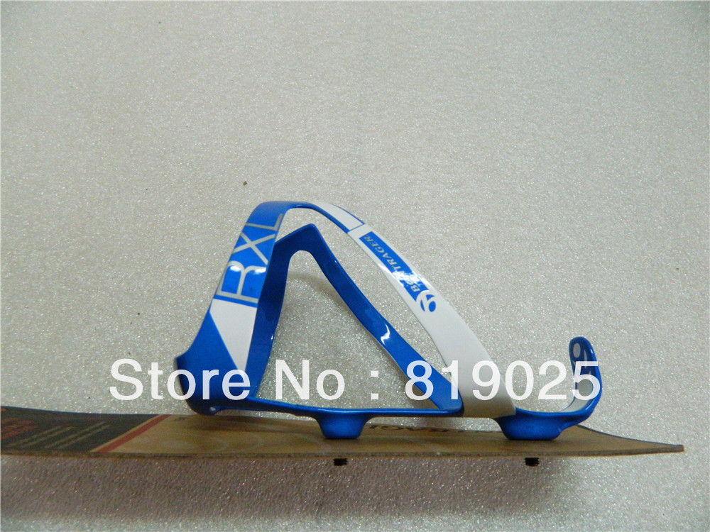 Wholesale Bontrager RXL Bottle Cages Cabon Bike Water Bottle Cages Blue White(China (Mainland))