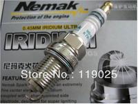 High Quality 4 PCS Nemak Iridium Ultra-fine Car Spark Plug Extreme Performance Plugs for Cayenne,Sail, AVEO, ALTO etc