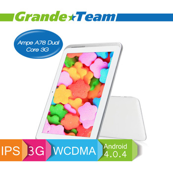 Ampe A78 Dual Core 3G Android 4.0.4 tablet pc android 4.0 tablet pc tablet pc wifi antenna slim pad tablet pc