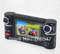 "DHL 2.7"" TFT LCD vehicle Car DVR HD  camera dvr Car Black Box F20Dual  Lens + Night Vision IR LED+G-Senso+H.264 Wholesale"