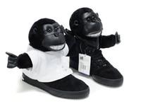 Jeremy Scott JS gorillas, chimpanzees couple shoes men shoes trend shoes V24424