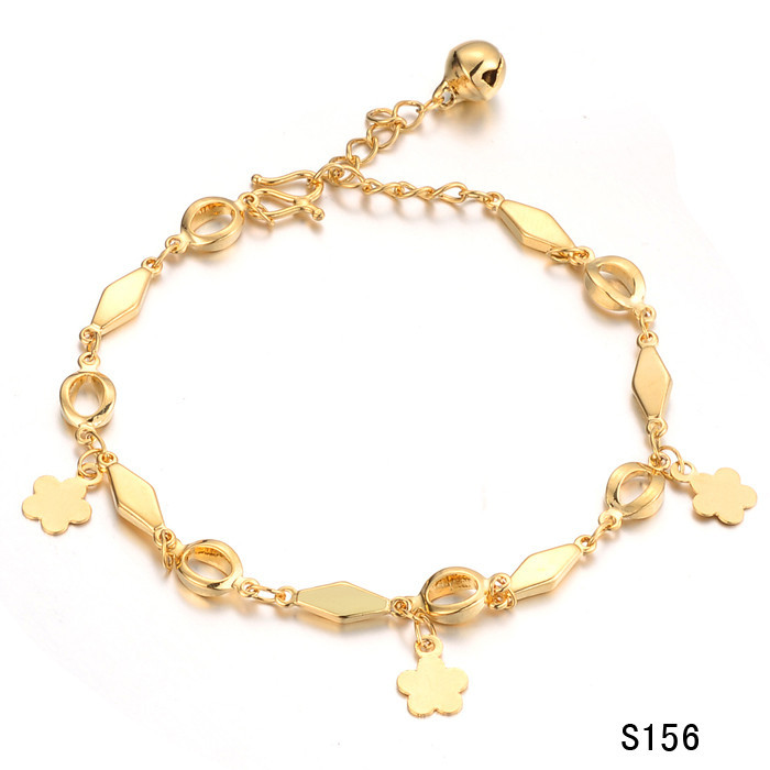 Fashion accessories 18k gold jewelry bell bride bracelet ks156(China (Mainland))