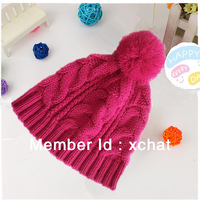 100%acrylic girls beanie hat