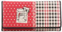 Кошелек SNOOPY women's cartoon cute snakeskin stripe two-fold long wallet s8025-16 orange