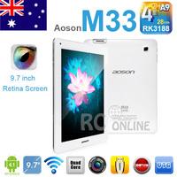 "16GB 9.7"" Aoson M33 RK3188 Quad Core android 4.1 Tablet PC Retina Screen OTG"