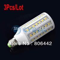 3Pcs/Lot E27 SMD5050 13W 1600LM Warm White 86 LED Corn Light Bulb LED Bulb Lamp led lighting 200V-240V free shipping