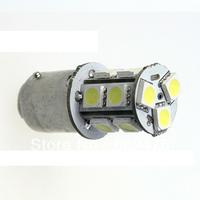 10pcs/lot Auto 1156 BA15S P21W 13 SMD 5050 LED Brake Tail Turn Signal Light Bulb Lamp red available DC12V