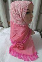 Tc227 leisure cotton lace scarf 200*55CM