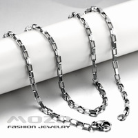 Wholesale 2014 New HOT Fashion Jewelry chain Women's/Men's 1.5/2/3MM 45/50CM 316L Stainless Steel Necklace for women/men TY325