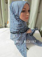 Tc239 leisure cotton mosaic Floral Scarf 180*50CM