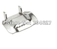 stainless steel banding buckle 10mm LY type  (SS304,100pcs/bag)