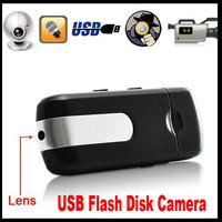 Mini U8 DV USB DISK DVR Camera Motion Detection Cam U disk Camcorder 720x480 Free Drop shipping