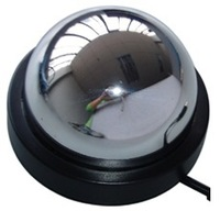 New! 700TVL 1/3 Effio Sony CCTV mirror Dome camera 3.6mm lens with OSD Menu, Free shipping