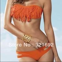 2013 Sexy summer Tassels bikinis lingerie Fashion women bikini set swimwear beachwear dropshipping,free shipping